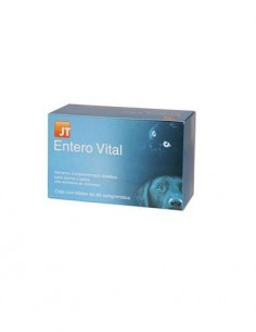JT Entero Vital diarreas en perros y gatos 60 comp.