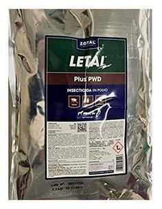 Letal Plus PWD insecticida en polvo 1 kg.