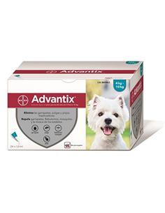 Advantix pipetas antiparasitarias perros 4-10 kg. 1 pip.