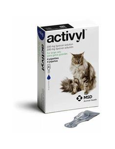 Activyl Gato antipulgas +4kg. 4 pip.