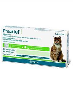Prazitel antiparasitario gato 1 comp.