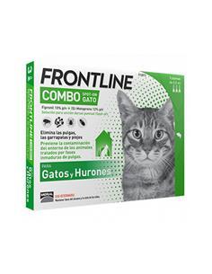 Frontline Combo antiparasitario gatos 3 pip.