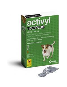 Activyl Plus antipulgas perros pequeños 5-10 kg. 4 pip.