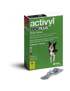 Activyl Plus antipulgas perros medianos 10-20 kg. 4 pip.