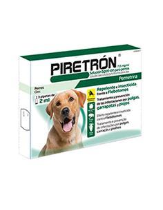 Piretrón 2 ml. perros de + de 15 kg. 1 pip.
