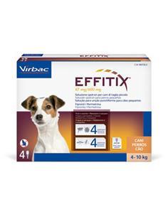 Effitix S perros 4-10 kg. 1 pip.