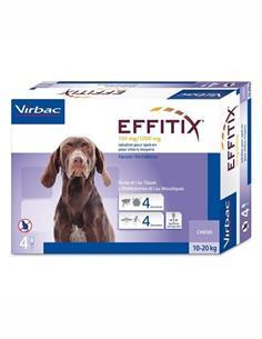 Effitix M perros 10-20 kg. 1 pip.