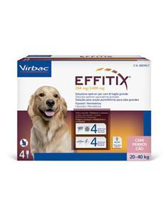 Effitix L perros 20-40 kg. 1 pip.