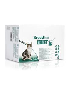 Broadline Gato 2,5-7,5 kg. 15 pip.