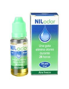 Nilodor desodorante ambiental mascotas gotas 15 ml.