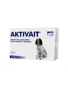 Aktivait deterioro cognitivo perros medianos y grandes 60 caps.