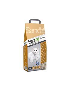 Arena para gato Sanicat Clumping 10 l.