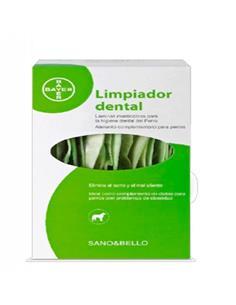 Sano y Bello Limpiador dental perros laminas masticables 140 g.