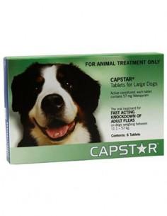 Capstar antiparasitario perros grandes 57 mg. 6 comp.