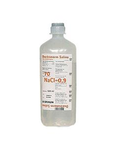 Suero Dextranorm Salino 500 Ml.