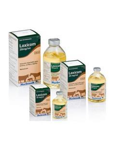 Loxicom Antiinflamatorio inyectable bovino, cerdos, equino 100 ml