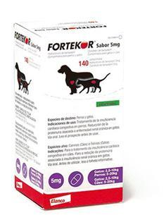 Fortekor Sabor para la insuficiencia cardíaca congestiva 5 mg.