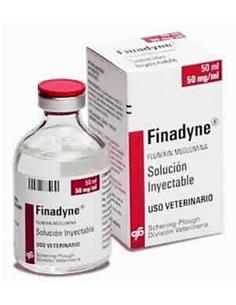 Finadyne 50 mg/ml. Antiinflamatorio caballos. inyectable 50 ml