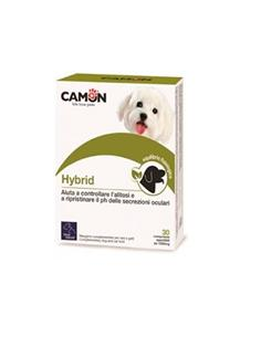 HYBRID cuidado lagrimales y salivales perros 60 comp.
