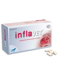 Inflavet antiinflamatorios perros y gatos 60 comp.