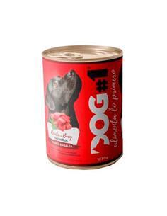 Dog-1 Húmedo Buey y Cereales 1230 g.