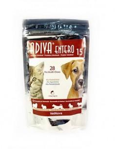 Adiva Entero 15 protector intestinal perros y gatos 28 premios