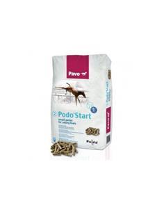 Pavo Podo Star pienso de alta calidad potros 20 kg.
