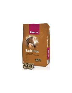 Pavo Basic Plus pienso básico sin avena caballos 20 kg.