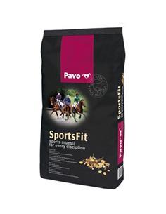 Pavo Sports Fit muesli premium caballos 15 kg.