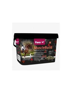 Pavo MuscleBuild complemento el desarrollo muscular caballo 3 kg.
