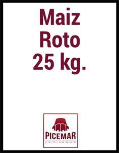 Maiz Roto 25 kg.