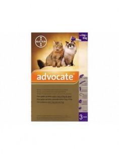 Advocate pipetas gatos 4-8 kg.