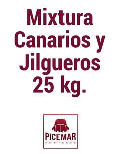 Mixtura Canarios y Jilgueros 25 kg.