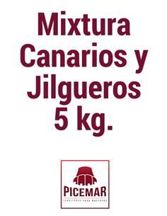 Mixtura Canarios y Jilgueros 5 kg.