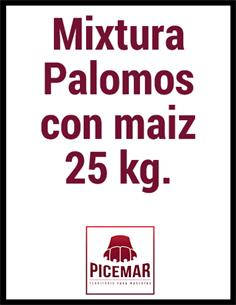 Mixtura Palomos 25 kg.