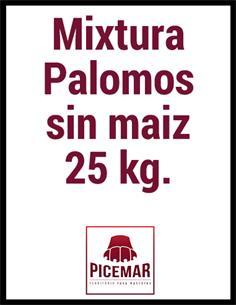 Mixtura Palomos S/M 25 kg.