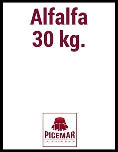 Alfalfa 30 kg.