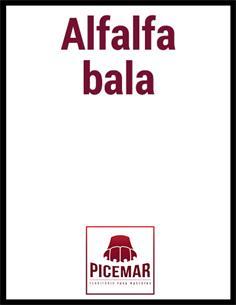 Alfalfa En Rama (Bala Pequeña)