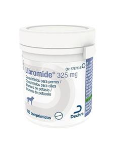 Libromide Antiepiléptico perros 325 mg. 100 comp.