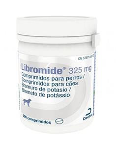 Libromide Antiepiléptico perros 325 mg. 500 comp.