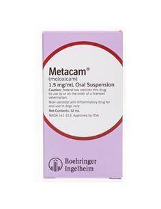 Metacam suspensión oral perros 32 ml.