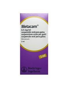Metacam suspensión oral perros 3 ml.