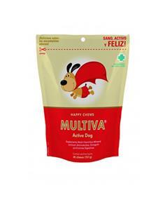 Multiva Active dog multivitamínicos perros 45 premios
