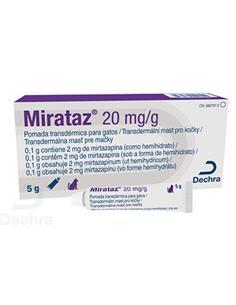 Miratraz 20 mg. Pomada Transdermica 5 gr