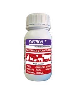 Diptron T Insecticida para Insectos Rastreros y Voladores 250 ml.