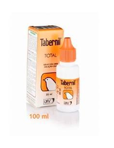 Tabernil Total Suplemento Vitamínico aves adorno 100 ml.