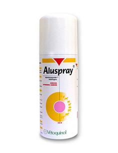 Aluspray Spray cicatrizante perros y gatos 210 ml.