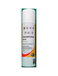 Terramicina spray antibacteriano 150 ml.