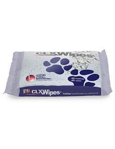 Clx Toallitas con Clorhexidina para Mascotas 40 toallitas