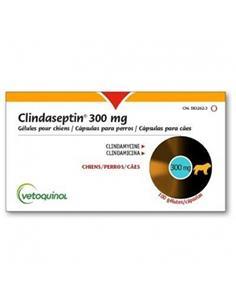 Clindaseptin antibiótico perro 300 Mg. 100 Cap.